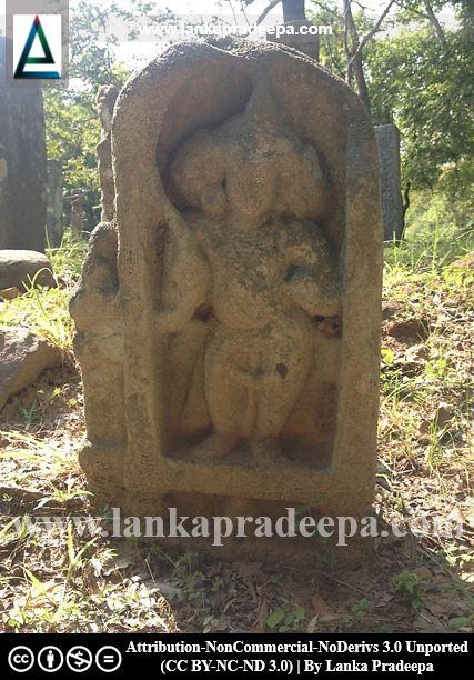 A Muragala (guard stone)