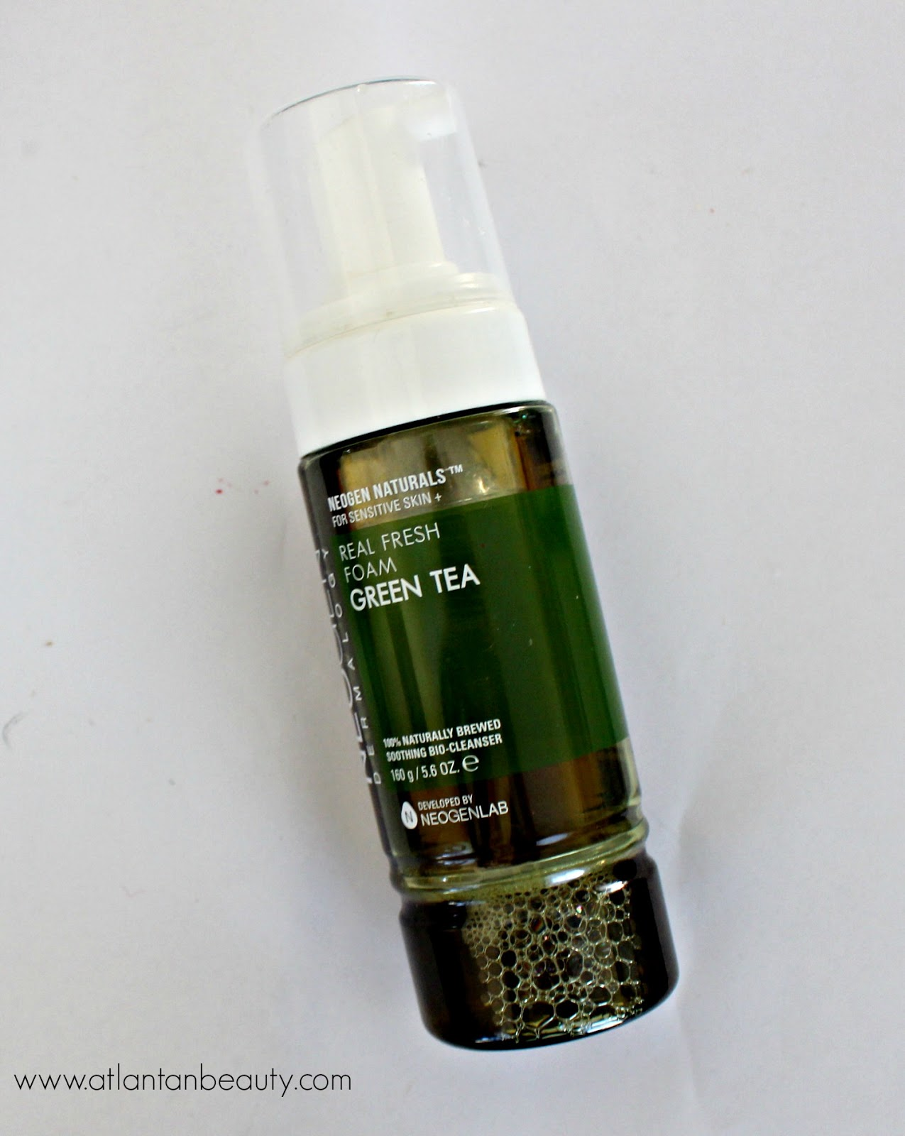 Green Tea Real Fresh Foam Cleanser by neogen dermalogy #9