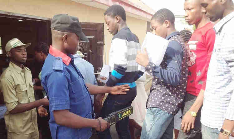 Varsity Don Arrested For Aiding Daughter To Cheat During UTME | Baba