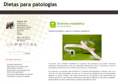 Blog de dietas para patologías