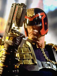 Sylvester Stallone as Judge Dredd