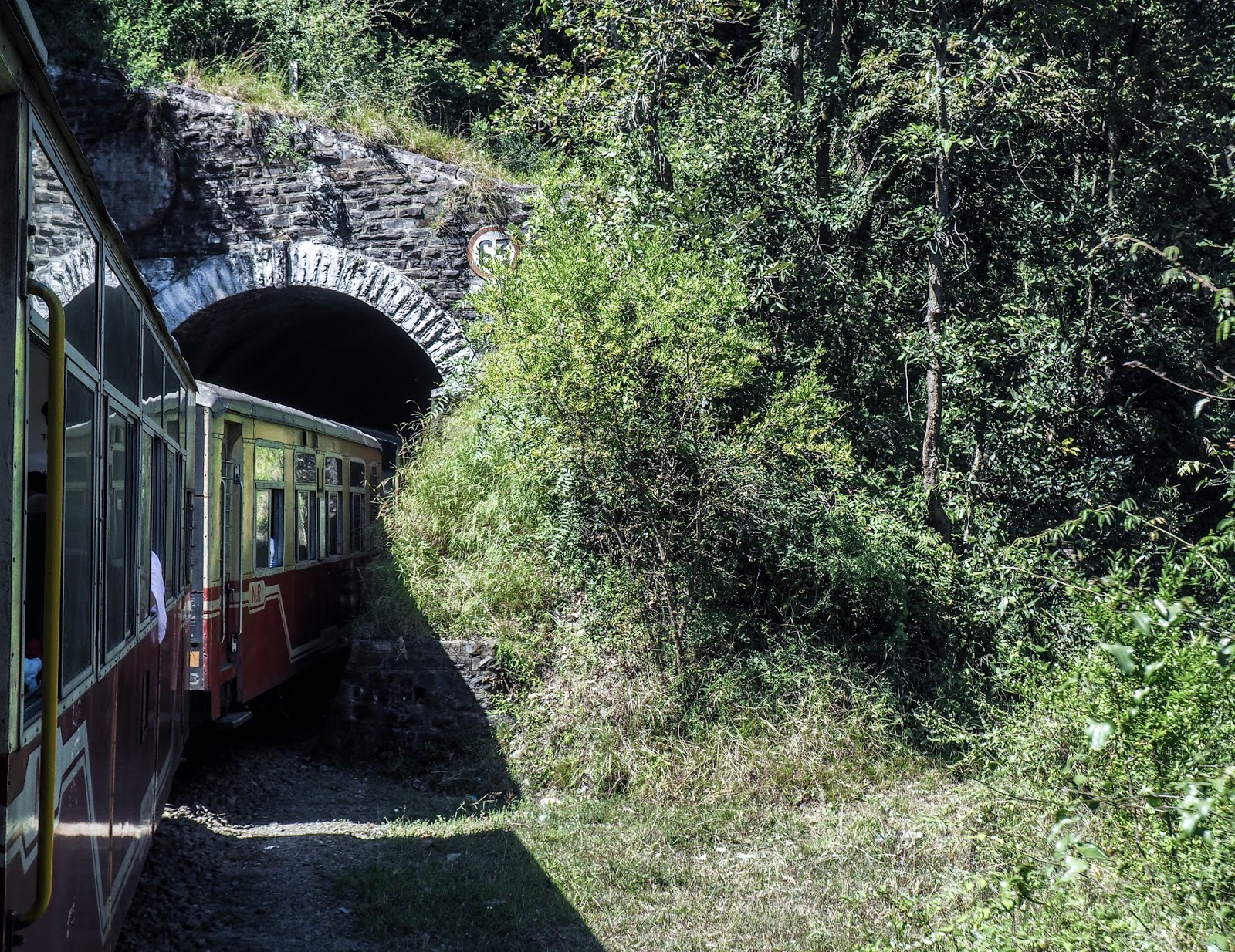 Intia, India, Kalka, Shimla, rautatie, railway, Northern India, Pohjois-Intia, train trip, junamatka, toy train,