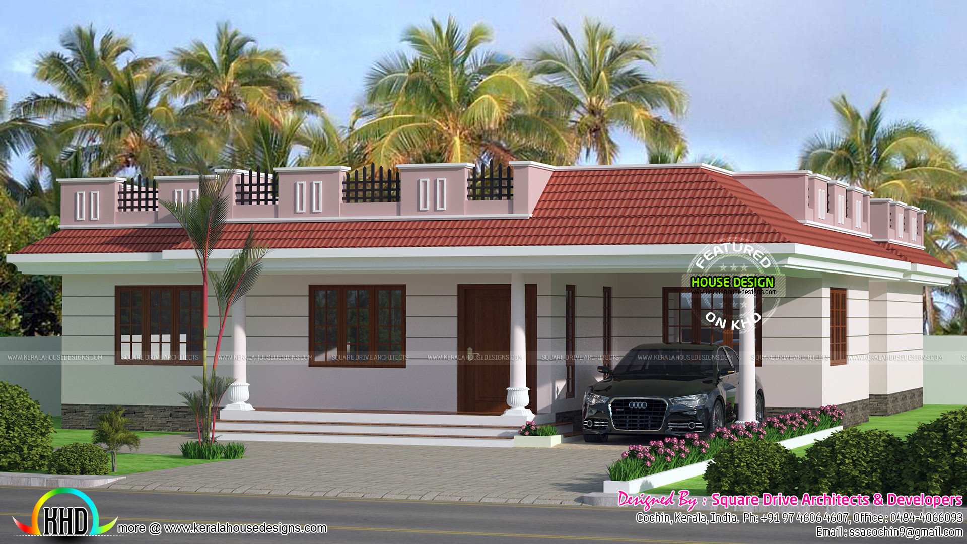 1567 sq ft modern 4 bhk villa kerala home design and for 4 bhk house plans kerala