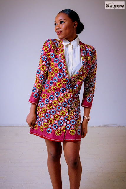Design of a Diaspora Blazer Dress