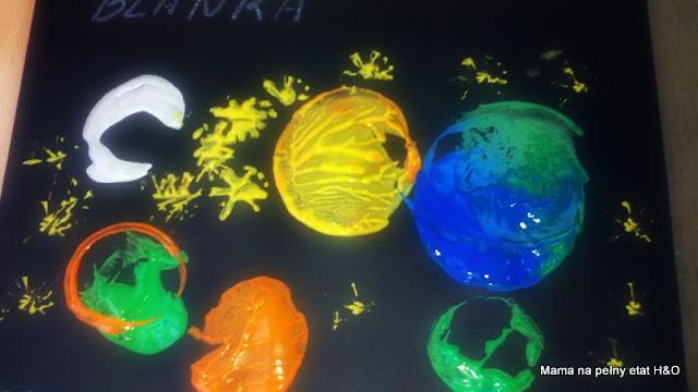 kosmos prace plastyczne