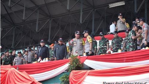 DPRD Jabar Apresiasi Sinergitas TNI Dan Polri