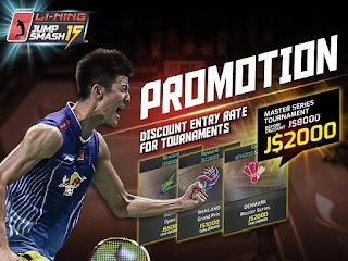 LiNing Jump Smash 15 Badminton Apk Mod