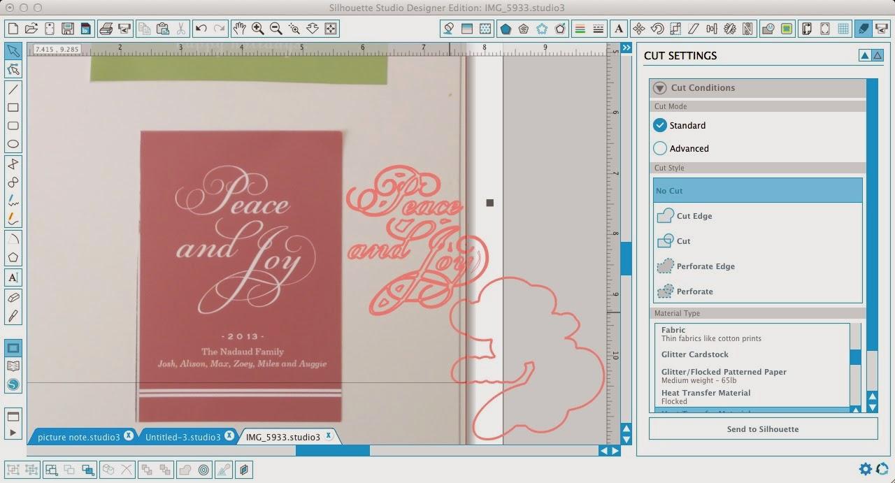 Silhouette Pixscan, Silhoeutte tutorial, Pixscan tutorial, Silhouette Studio, release compound path