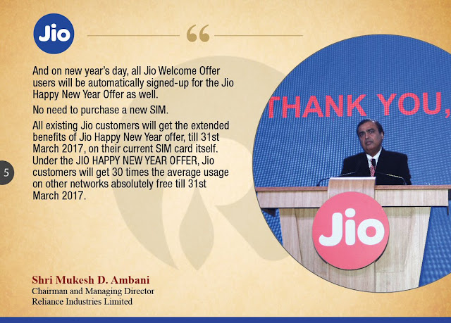 Enjoy All Jio services till 31st March 2017: Here is how