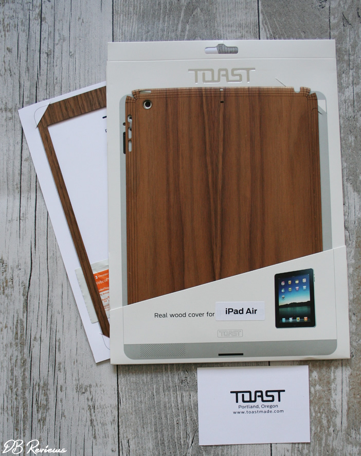 Real wood tech cover from Toast