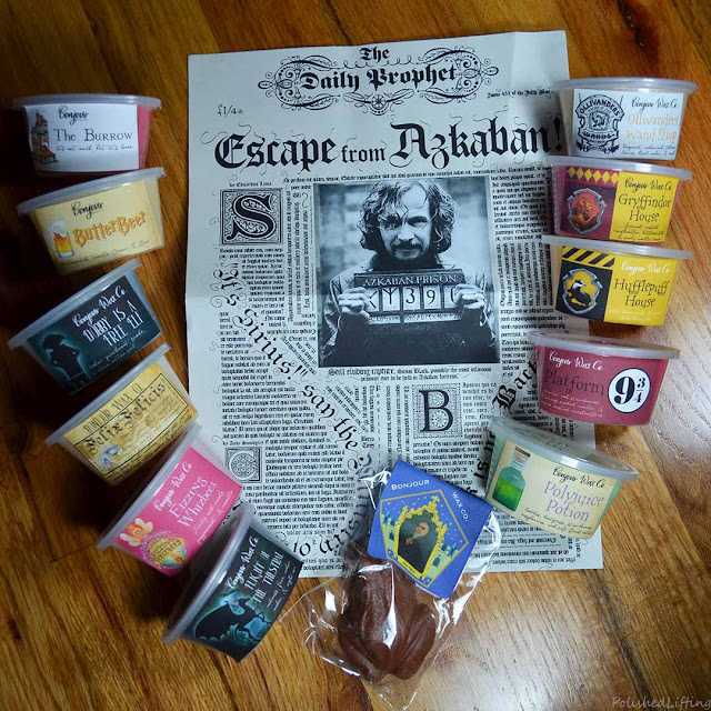 Harry Potter Hogwarts themed wax melts