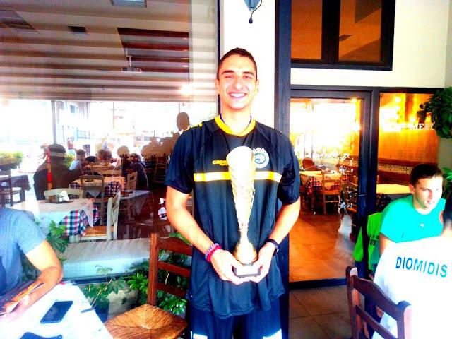 Χρήστος Τσιγαρίδας αρχηγός της ομάδας U20 του Διομήδη: Οι κόποι μας ανταμείφθηκαν στο έπακρο