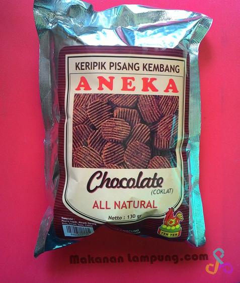 Gambar Keripik Pisang Coklat Khas Lampung Keripik Pisang Coklat Yen Yen Oleh Oleh Lampung Pusat