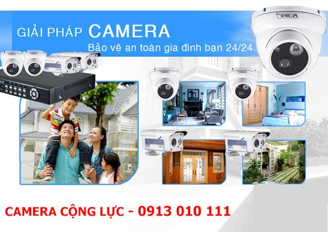 Lắp camera giám sát an ninh tại Quận Lê Chân
