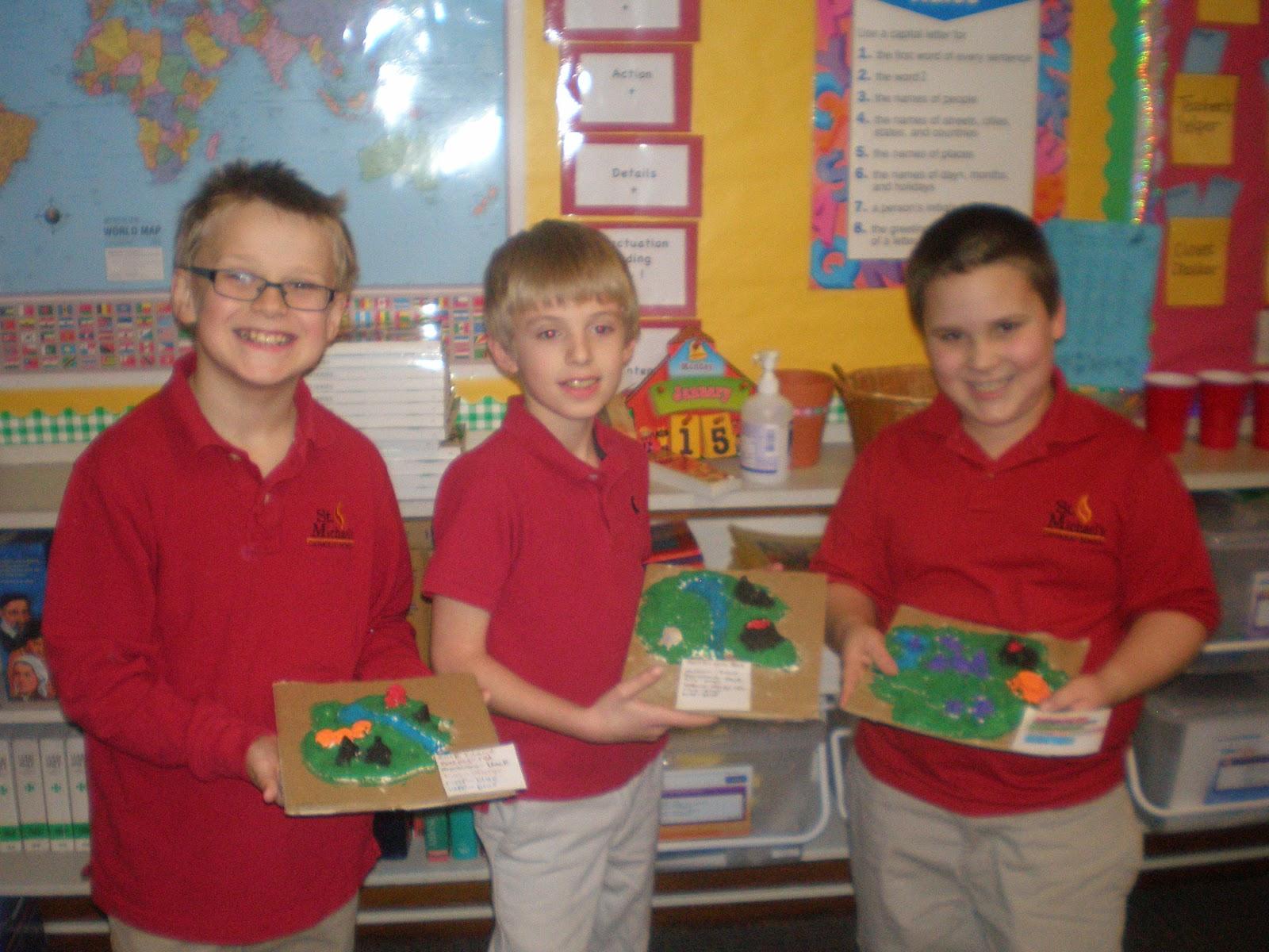 Mrs Steele S 3rd Grade Landforms