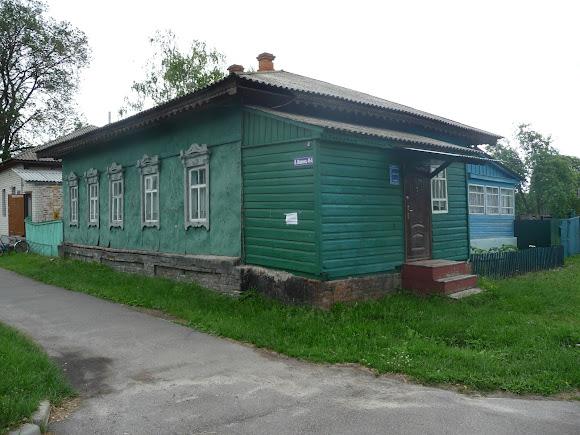 Батурин. Улица Виктора Ющенко