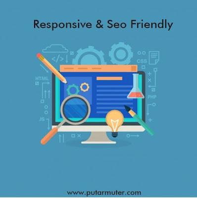 cara melihat tampilah website seo friendly dan responsive