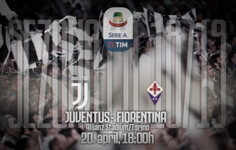 Serie A 2018/19 / 33. kolo / Juventus - Fiorentina, subota, 18:00h