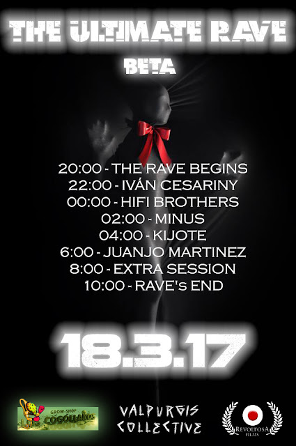 THE ULTIMATE RAVE BETA 18.3.17