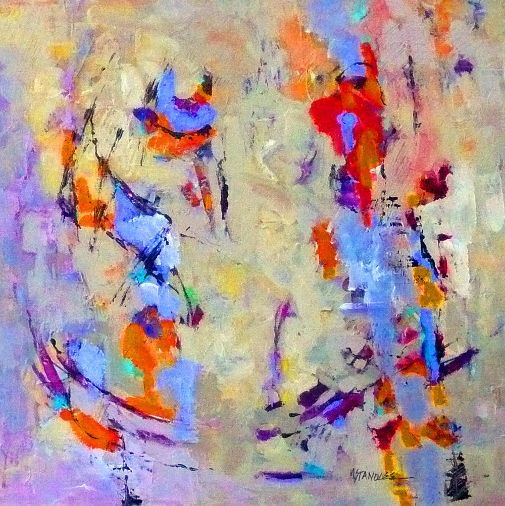 Contemporary Abstract Painting Nancy Standlee Fine Art Contemporary Abstract Painting