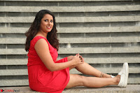 Shravya Reddy in Short Tight Red Dress Spicy Pics ~  Exclusive Pics 078.JPG