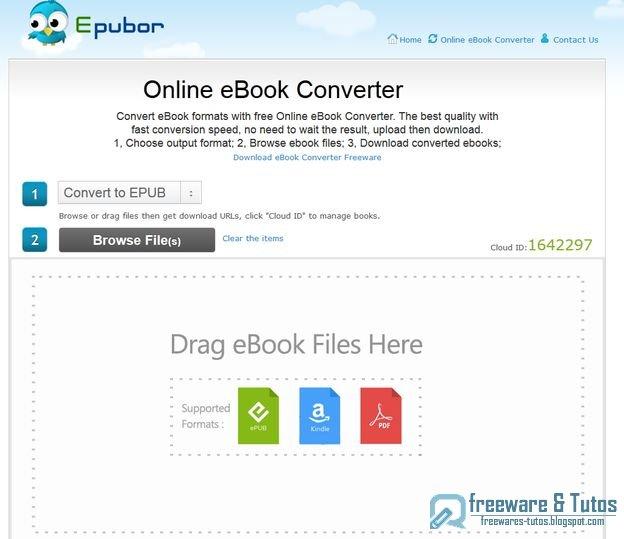 Online eBook Converter : un outil en ligne pour convertir des ebooks