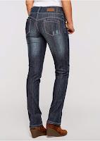 Jeanși stretch Lift-up STRAIGHT