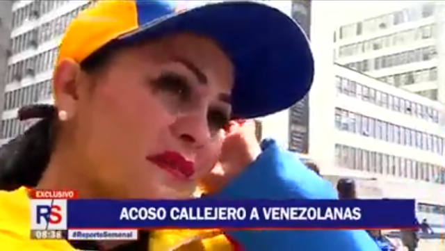 Mujeres Venezolanas acosadas sexualmente en peru fueron entrevistadas por el programa de tv Reporte semanal (VIDEO)