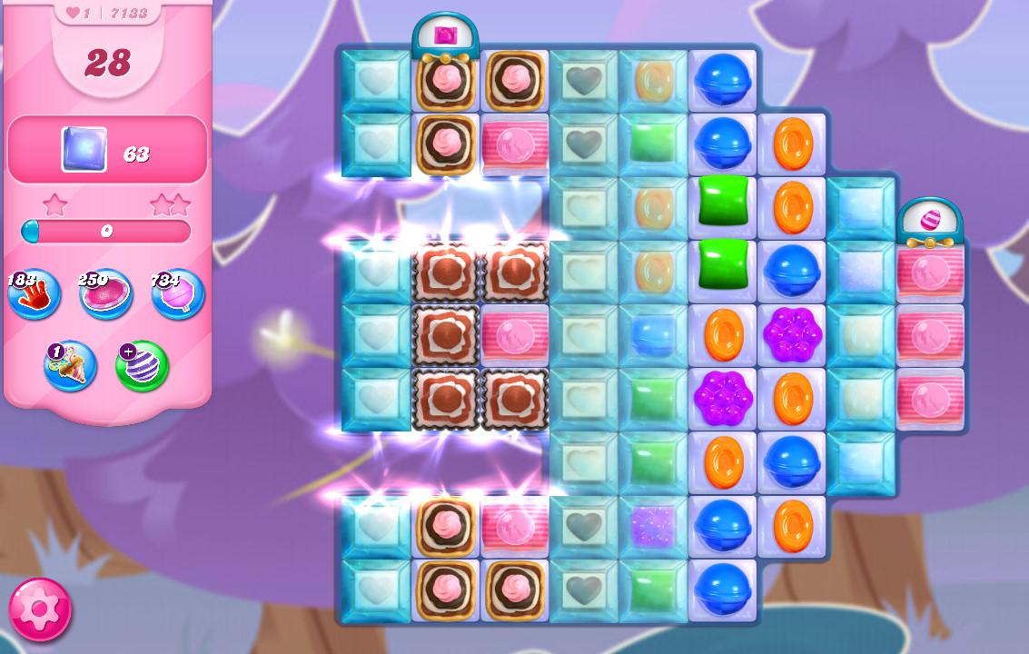 Candy Crush Saga level 7133
