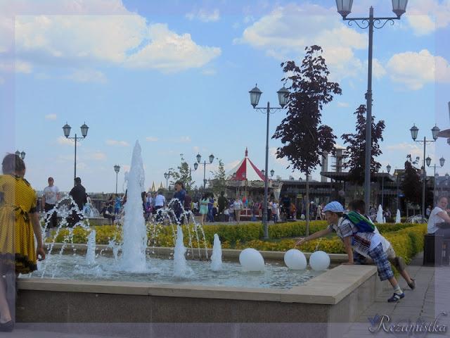 фонтаны Кремлёвской Набережной