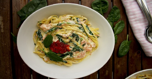 One-Pot Creamy Smoked Salmon Pasta Recipe