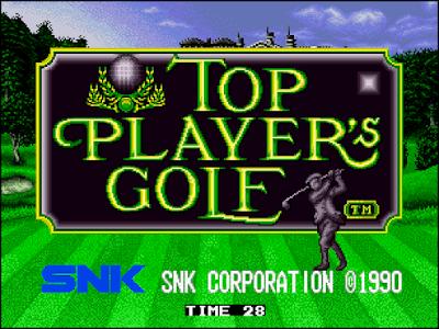 街機:頂尖高爾夫(Top Player s Golf),懷舊的球類運動遊戲!