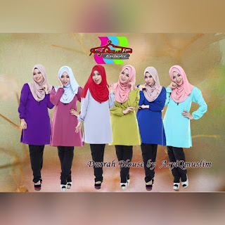DURRAH BLOUSE SOLD OUT