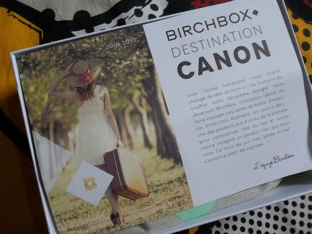 Birchbox - Juin 2013