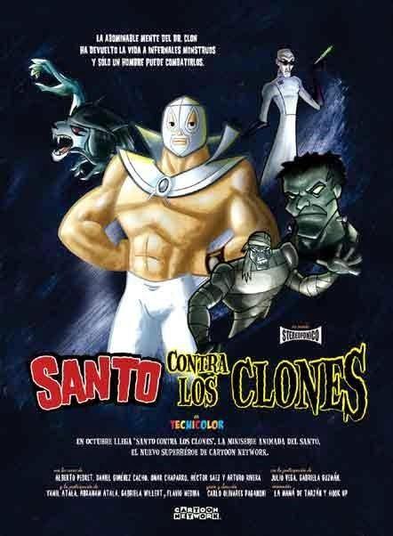 El Santo contra los clones Miniserie TV Completa Latino
