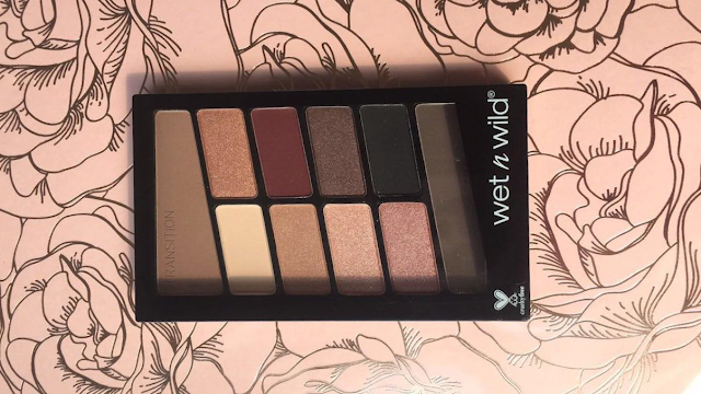 Wet n Wild Color Icon ten pan eye shadow in Nude Awakening