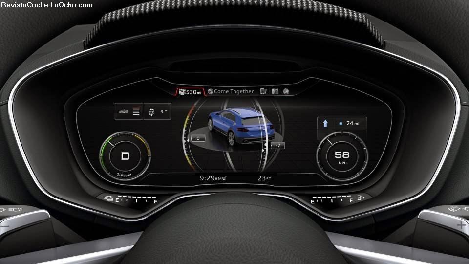Revista Coche: Audi Actualiza Sus Sistemas MMI, Audi