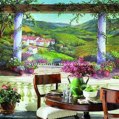 Lukis dinding luar ruangan