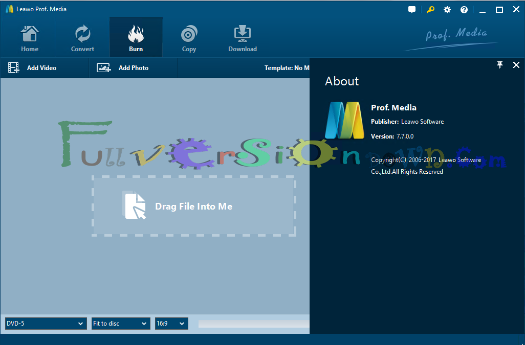 Leawo Prof. Media 7.7.0.0 Full Version