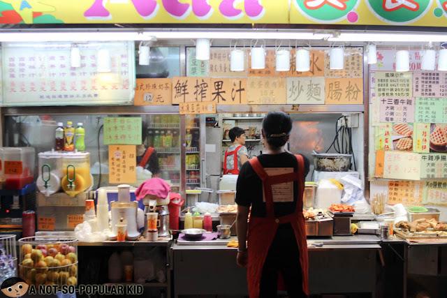 Ada Street food in Wan Chai, Hong Kong