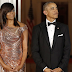 We're Trying To Be RESPECTFUL . . . But Did You See Michelle Obama In That Versace Dress. . . From BEHIND!!!