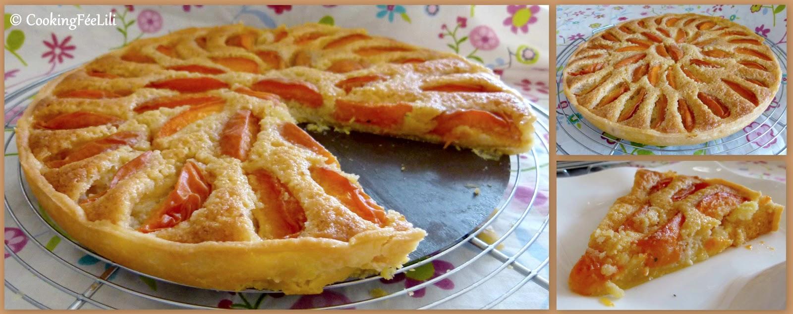 tarte peche abricot
