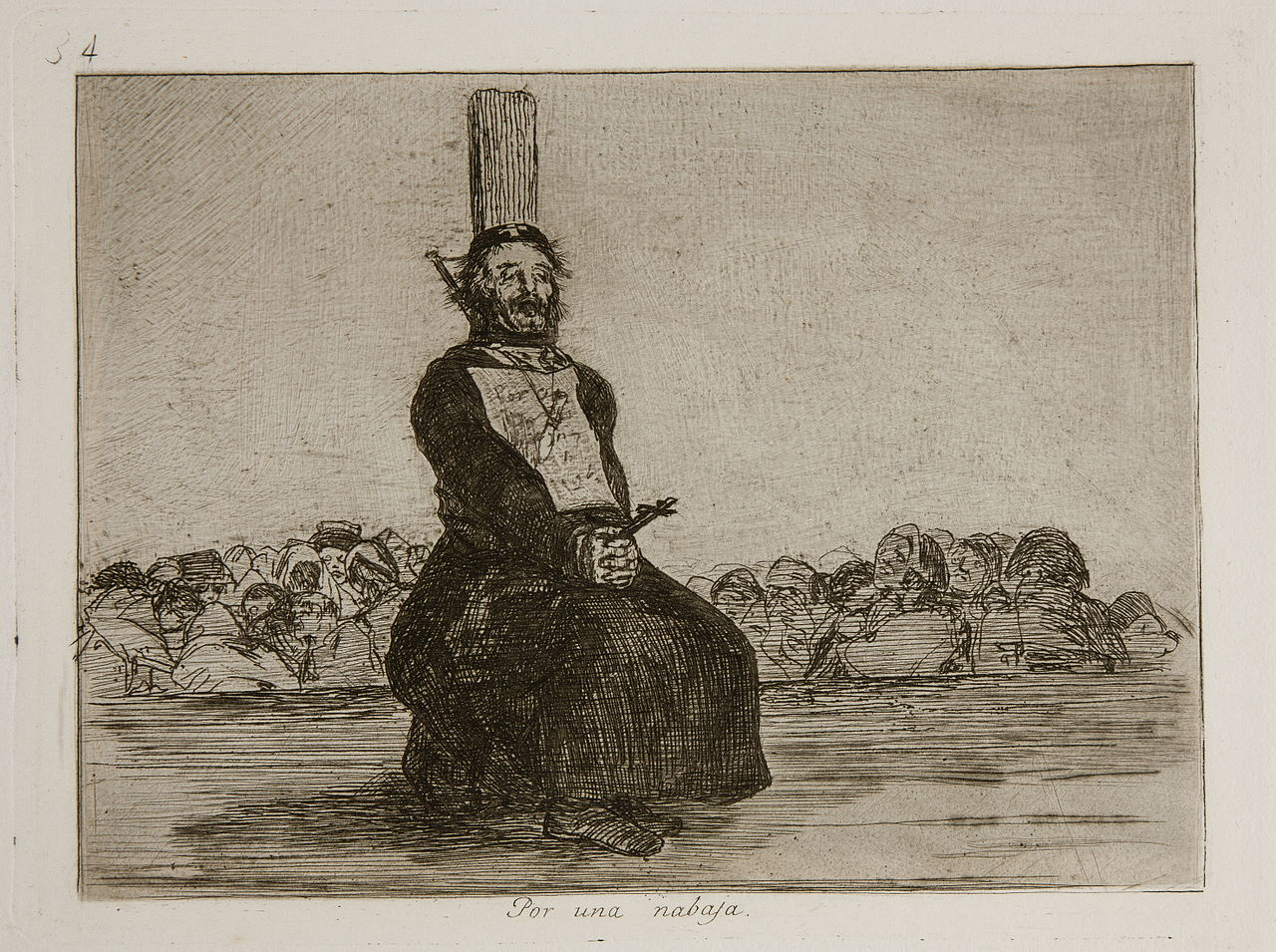 goyas disasters of war Enrique chagoya, goya conoce a posada (goya meets posada) from homage to goya ii: the disasters of war (1987, published 2003), etching with aquatint and red rubber stamp, image 6 3/4 x 8 1/2 inches, sheet 13 x 15 inches edition of 30.