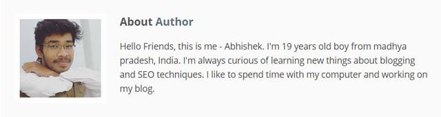 Abhishek-Dharmik-Bloggingbro-Author