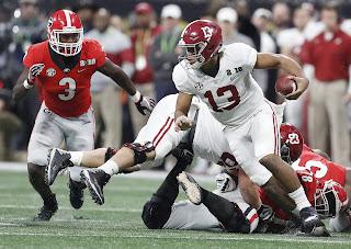 Alabama has 5 underclassmen entering the draft