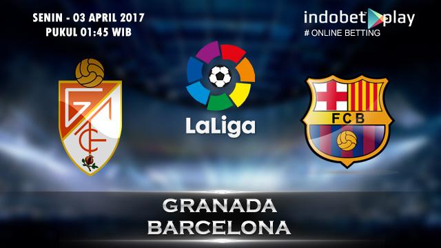 Prediksi Granada vs Barcelona 03 April 2017 (Liga Spanyol)