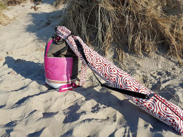 Packs ein als Strandrucksack
