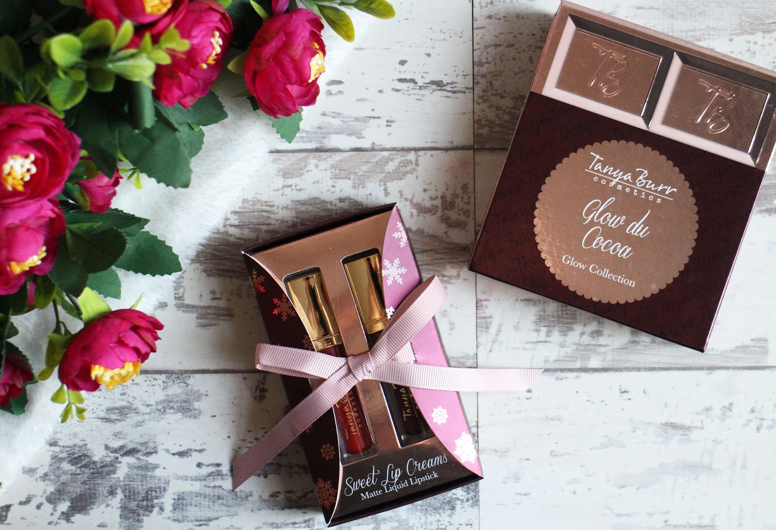 Tanya Burr Glow Du Cocoa & Sweet Lip Cream Gift Sets