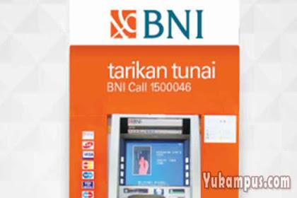 Cara Transfer BNI ke BNI Lewat ATM (Sesama Bank)