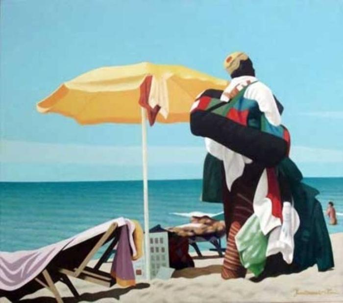 Современный итальянский художник. Ferdinando Olmi
